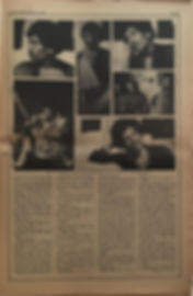 jimi hendrix newspaper 1970 /rolling stone  march 19, 1970