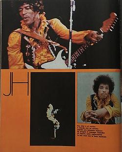 jimi hendrix magazines 1969/ciao 2001: N°48 december 24, 1969