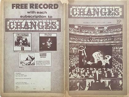 jimi hendrix newspapers 1970 / changes  july 1, 1970