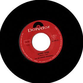 jimi hendrix collector vinyls singles 45t/gypsy eyes polydor italy 1968