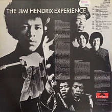 jimi hendrix collector vinyls/are you experienced reissue 1978 france