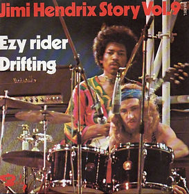 jimi hendrix vinyl single/ vol.9 ezy rider/drifting