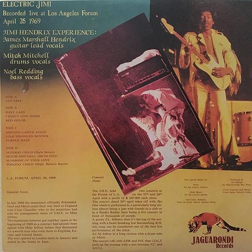 jimi hendrix album vinyl bootlegs/electic jimi