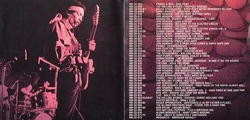 jimi hendrix bootlegs cd / back to berlin !