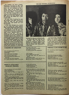 jimi hendrix magazine 1969/best songs april 1969/fire jimi hendrix experience