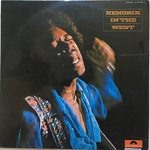 jimi hendrix vinyls  1972/in the west spanish
