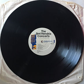 jimi hendrix vinyls album / the jimi hendrix concerts / side 1 : frituna records