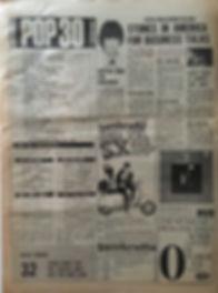 jimi hendrix collector newspapers/melody maker 16/9/67 pop 30/top ten LP/