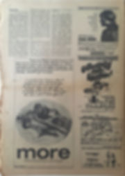 jimi hendrix newpaper 1969/the east village other august 13 1969/woodstock