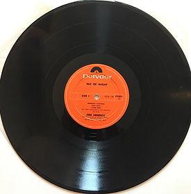 jimi hendrix album vinyl lps/side 1 isle of wight 1971 new zealand
