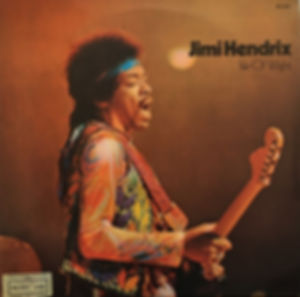 jimi hendrix album vinyl lps/isle of wight