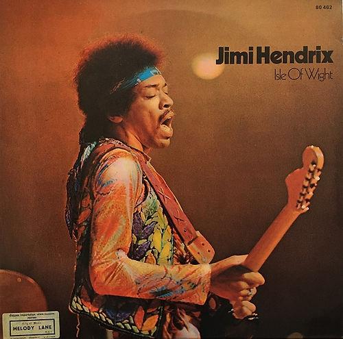 jimi hendrix album vinyl lps/isle of wight