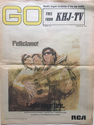 jimi hendrix newspaper/go 30/9/68