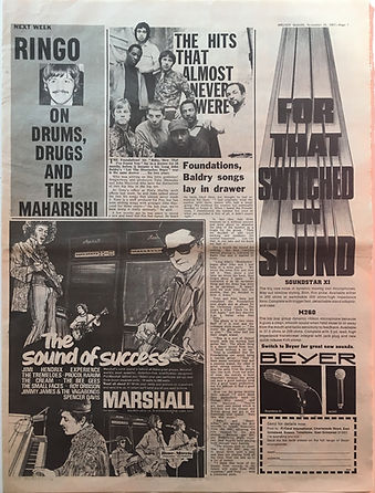 the sound of success marshall/melody maker 25/11/1967