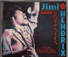 jimi hendrix bootlegs cds 1969/  the fillmore  concerts