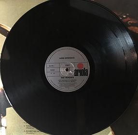 jimi hendrix vinyl album lps/more experience  side a :  spanish 1973