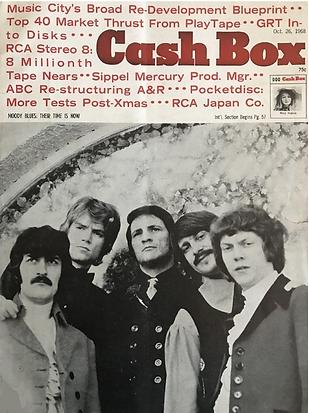 jimi hendrix magazine 1968 / cash box october 26, 1968