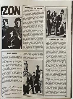 jimi hendrix collector magazine/hullabaloo october 1967 horizon/experiencing jimi hendrix