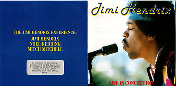 jimi hendrix collector cd bootlegs/live in concert 1967