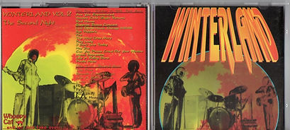 jimi hendrix bootleg cd/winterland the second night woopy cat 28/27