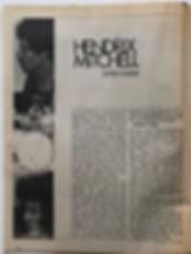 jimi hendrix magazine 1968/hendrix/mitchell interview :scene november 1968