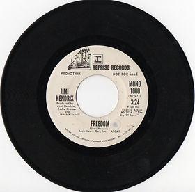 jimi hendrix vinyls singles/freedom mono /promo usa