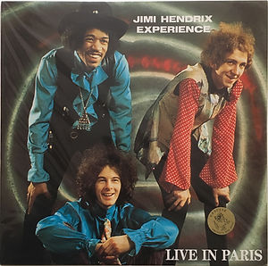 jimi hendrix vinyl album bootlegs/live in paris / swingin'pig color vinyl