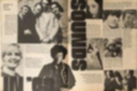 jimi hendrix magazine 1969 /teen  january 1969