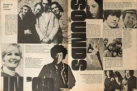 jimi hendrix magazine 1969 /teen  january 1969