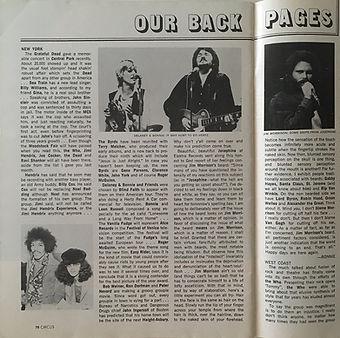 jimi hendrix magazine 1969/circus sept.69