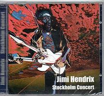 jimi hendrix bootleg cd /stockholm concert purple haze record