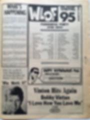 jimi hendrix newspaper 1968/go october 11 1968/wlof 95