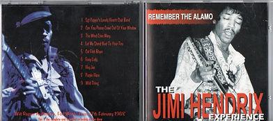 jimi hendrix cds bootlegs collector/remember alamo