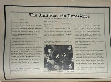 jimi hendrix newspapers 1967 / world countdown