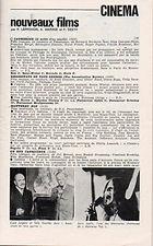 jimi hendrix memorabilia 1969 / paris program april 23, 1969
