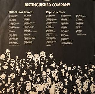jimi hendrix collector/inside cover reprise records  1970