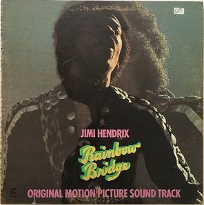 jimi hendrix album vinyl/rainbow bridge canada