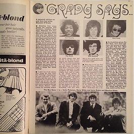 jimi hendrix magazine/rave june 1967