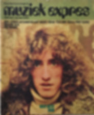 jimi hendrix magazines 1970 /musik express  march, 1970