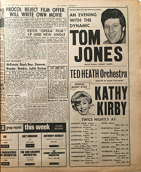 jimi hendrix collector newspapers/new releases hendrix 14/10/1967 new musical express