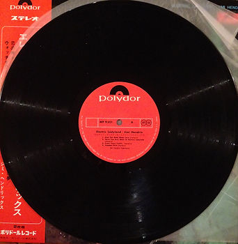 jimi hendrix vinyl album / side a : electric ladyland  japan