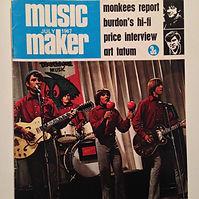 jimi hendrx magazine music maker july 1967