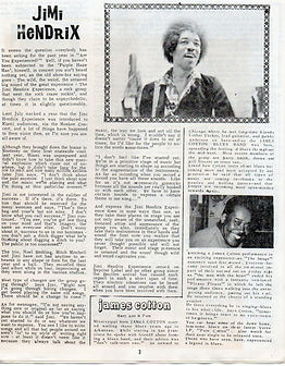 jimi hendrix magazine 1968/newsical december 1968/miami