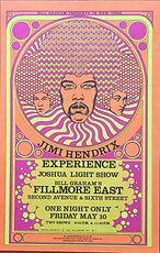 handbill memorabilia 1968/fillmore east n.y