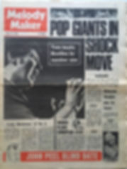 jimi hendrix newspaper/melody maker 30/3/68 no british tour for jimi hendrix.