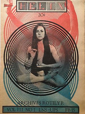 jimi hendrix collector newspaper/helix february 15  1968