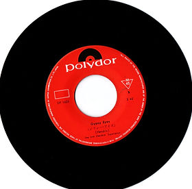 "jimi hendrix collector vinyls singles 45t/7""/ side b gypsy eyes polydor japan 06/69"