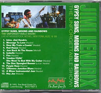 jimi hendrix cd bootleg album/ box cd 3 : the ultimante live collection