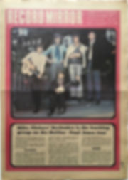 jimi hendrix newspaper/record mirror may 11 1968/ad: smash hits