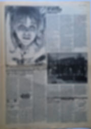 jimi hendrix newspaper 1969/ hit week march 28 1969